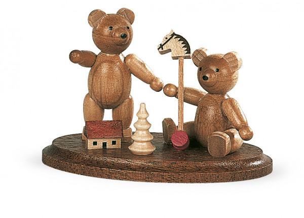 spielende Bärenkinder 4cm
