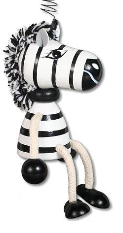 Schwingfigur Zebra 16cm
