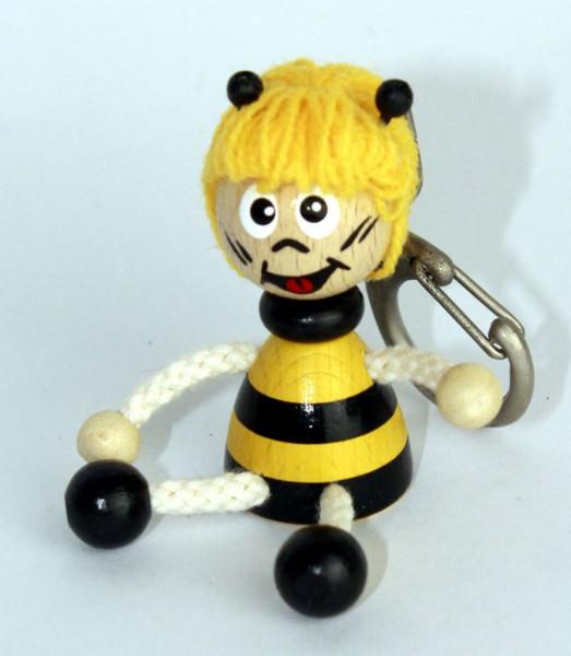 Schlüsselanhänger Biene 5cm