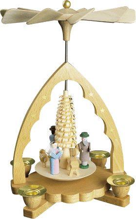 Pyramide Christi Geburt 19cm