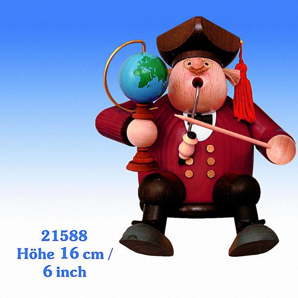 KWO Räuchermann Kantenhocker Professor 16cm