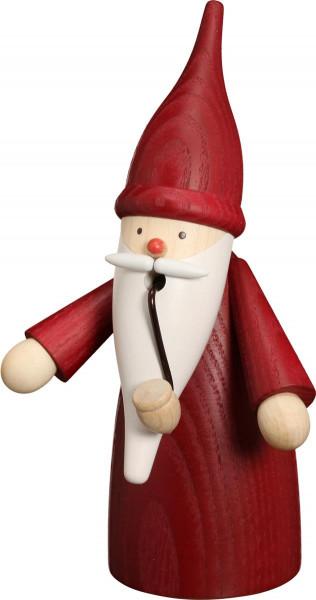 Räucherfigur Wichtel rot 16cm