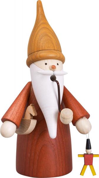 Räuchermann Spielzeugmacherwichtel 16cm