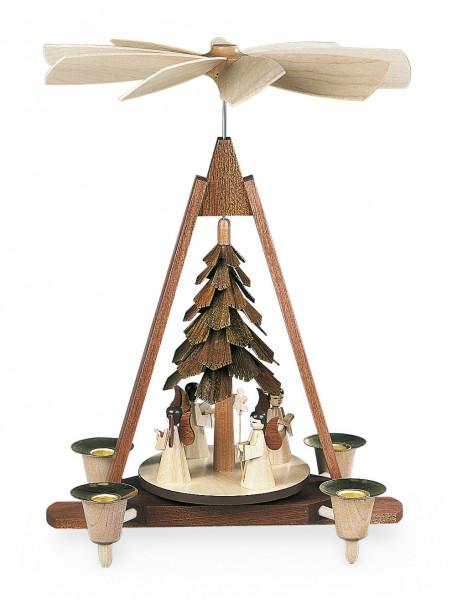 Tischpyramide Engel natur 30cm