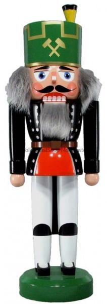 Legler Nussknacker Bergmann mit Hut 35cm