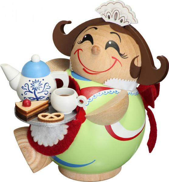 Kugelräucherfigur Schokoladenmädchen 12cm
