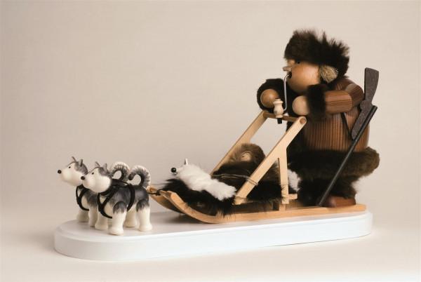 KWO Eskimo mit Hundeschlitten 21cm