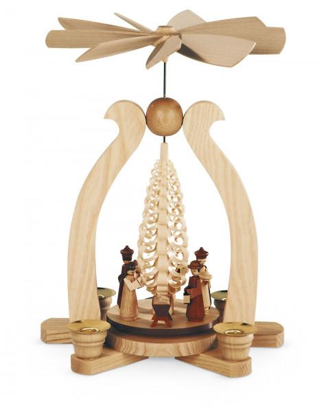 Bogenpyramide Christi Geburt natur 29cm