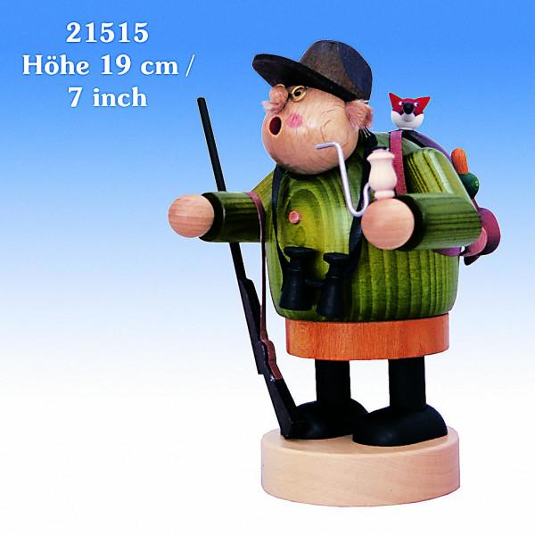 Räuchermann Jäger 19cm