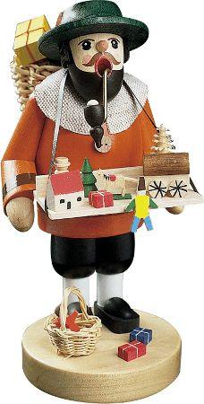 Räuchermann Spielzeughändler 17cm