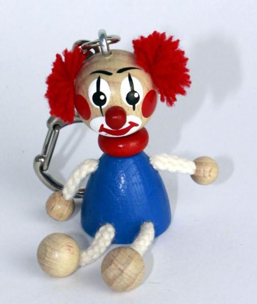Schlüsselanhänger Clown 5cm